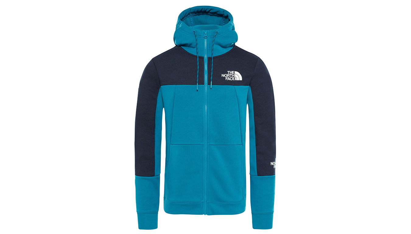 The North Face M Mnt Lite Fullziphd Crystal Teal