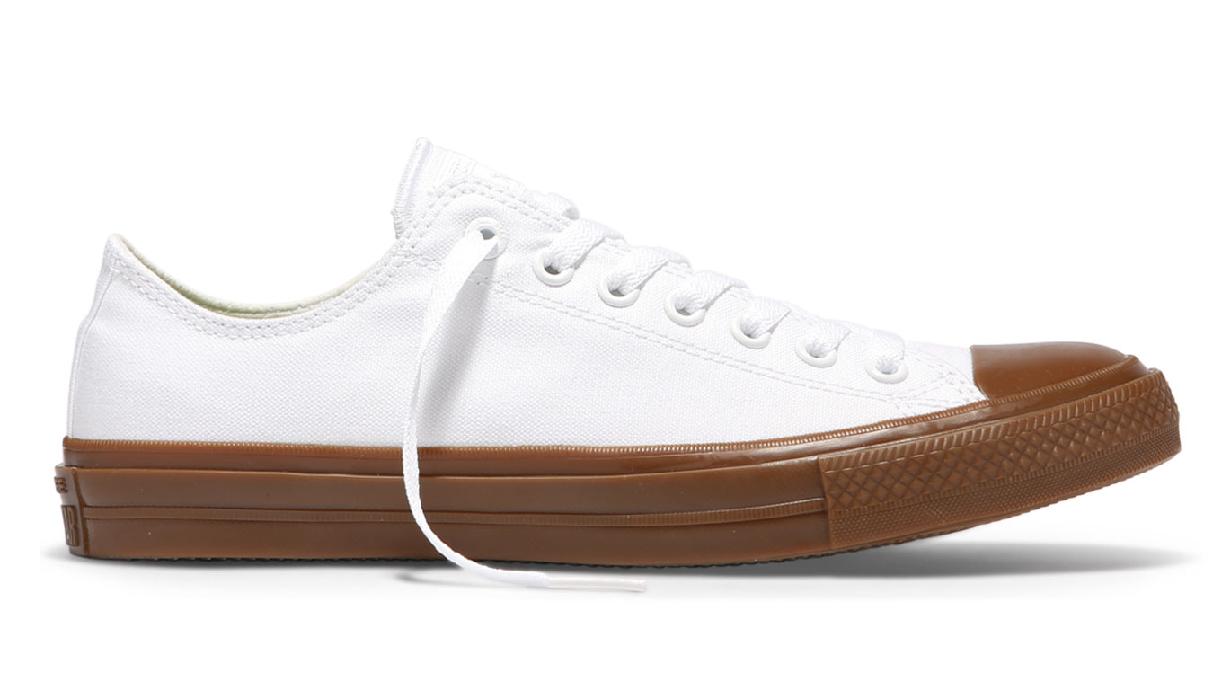 Converse Chuck Taylor All Star II Gum Low Top White