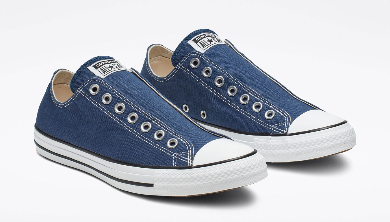Converse Chuck Taylor All Star Slip On Navy