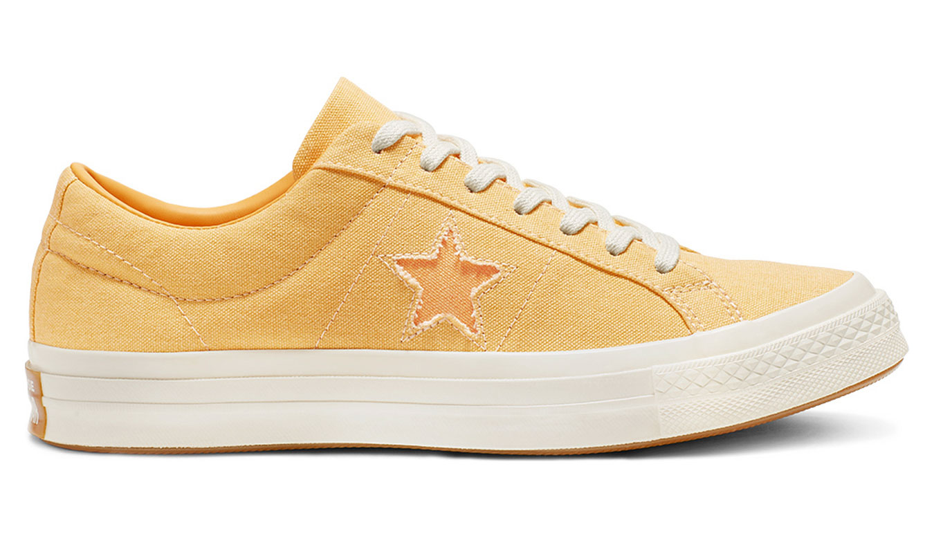 Converse One Star Low Sunbaked 'Butter Yellow'