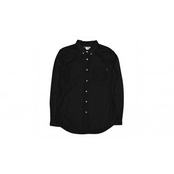 Dedicated Shirt Varberg Oxford Black