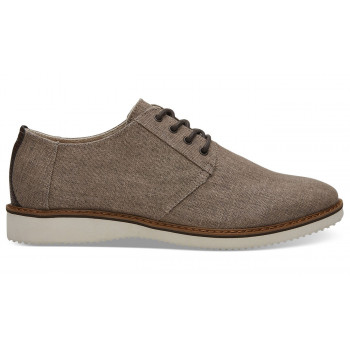 TOMS Preston Toffee Coated Linen