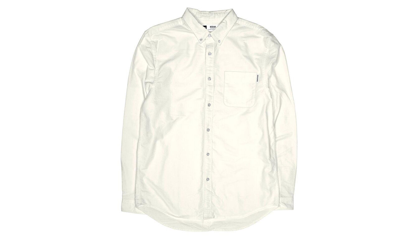 Dedicated Shirt Varberg Oxford White
