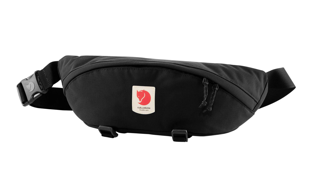 Fjällräven Ulvö Hip Pack Large Black