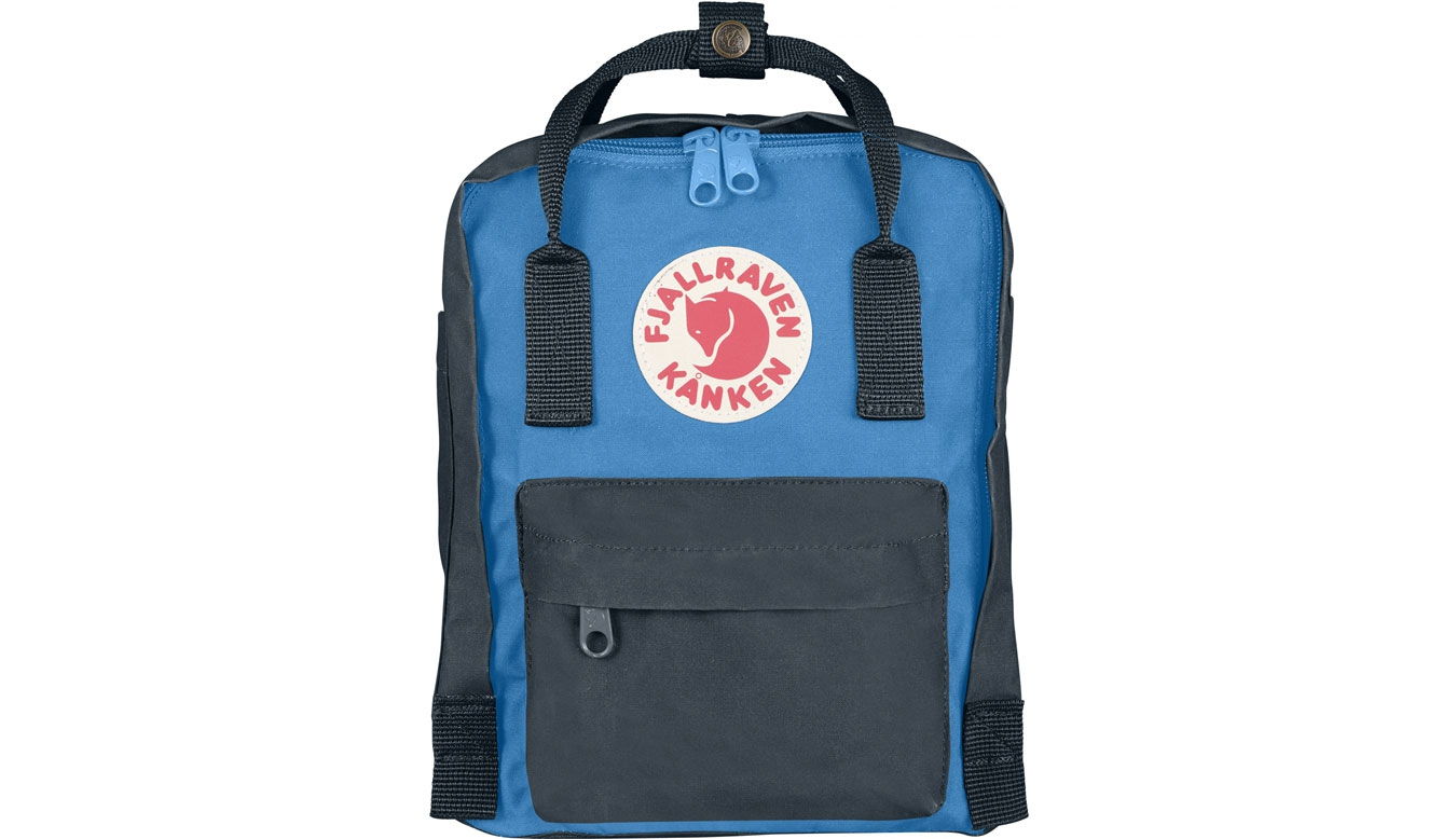 Fjällräven Kånken Mini Kids Graphite/UN Blue
