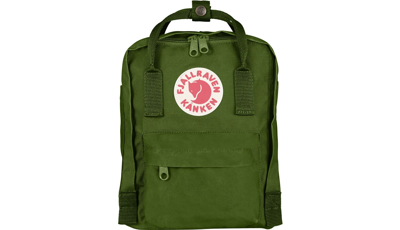 Fjällräven Kånken Mini Kids Leaf Green