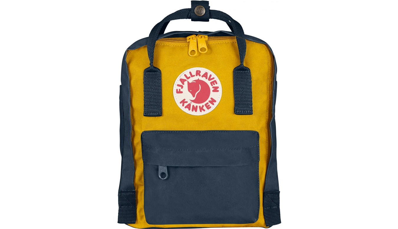 Fjällräven Kånken Mini Kids Navy/Warm Yellow