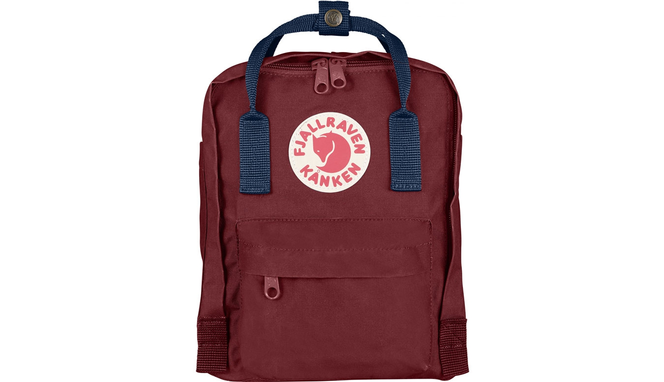 Fjällräven Kånken Mini Kids Ox Red Royal Blue