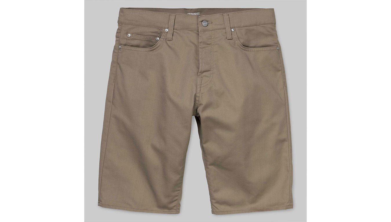 Carhartt Klondike Short Leather rinsed